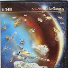 Videojuegos y Consolas: ASTEROIDS FIGHTER JUEGO PARA PC CD-ROM EN ESPAÑOL CATARO ZETAGAMES ARCADE. Lote 193851942