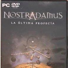 Videojuegos y Consolas: NOSTRADAMUS. LA ULTIMA PROFECIA. Lote 193949277