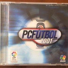 Jeux Vidéo et Consoles: PC FUTBOL 2001. Lote 194175552