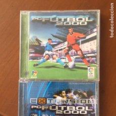 Jeux Vidéo et Consoles: PC FUTBOL 2000 + EXTENSIÓN. Lote 194175637