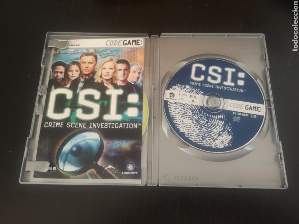 Videojuegos y Consolas: CSI CRIME SCENE INVESTIGATION JUEGO PARA PC - Foto 2 - 194209178