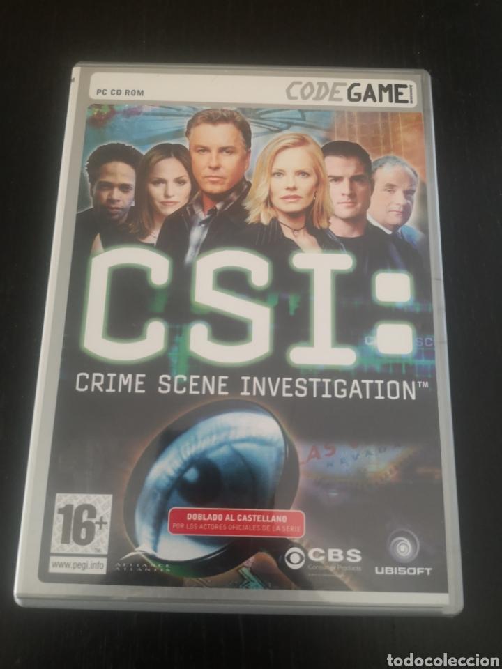 CSI CRIME SCENE INVESTIGATION JUEGO PARA PC (Juguetes - Videojuegos y Consolas - PC)