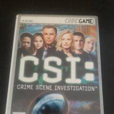 Videojuegos y Consolas: CSI CRIME SCENE INVESTIGATION JUEGO PARA PC. Lote 194209178