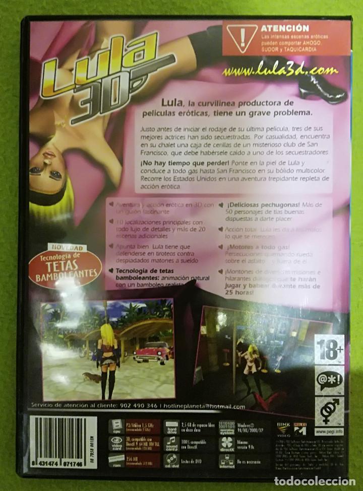 Videojuegos y Consolas: LULA 3D PARA PC / DVD - Foto 2 - 194209957