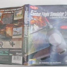 Videojuegos y Consolas: COMBAT FLIGHT SIMULATOR 3 - LA BATALLA DE EUROPA - JUEGO PARA PC -CASTELLANO. Lote 194231967