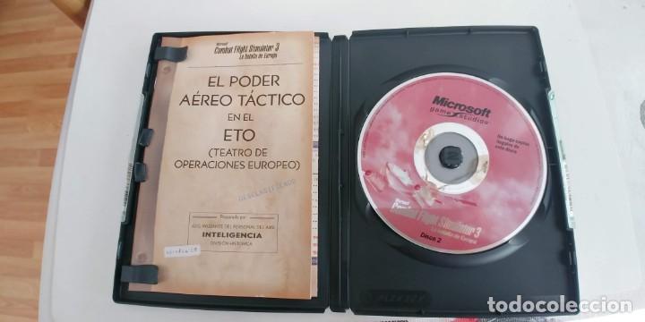Videojuegos y Consolas: COMBAT FLIGHT SIMULATOR 3 - LA BATALLA DE EUROPA - JUEGO PARA PC -castellano - Foto 2 - 194231967