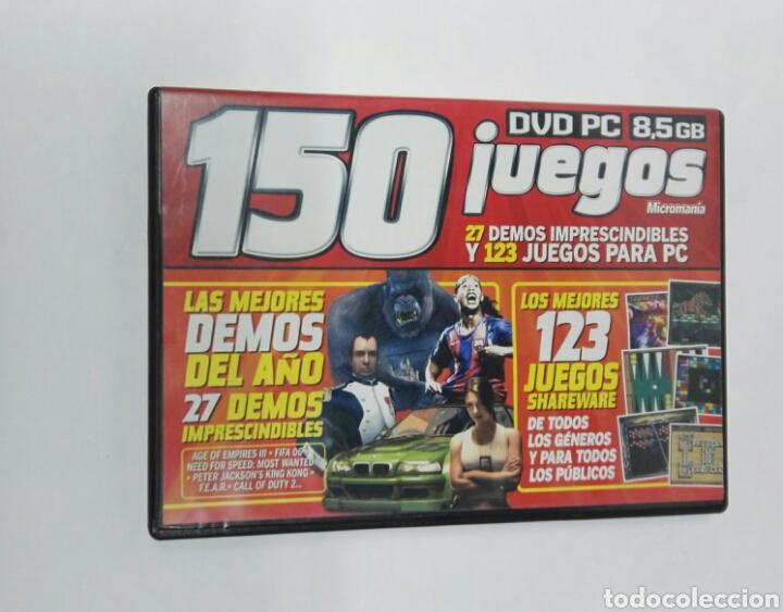 150 JUEGOS PARA PC MICROMANIA (Juguetes - Videojuegos y Consolas - PC)