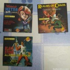 Videojuegos y Consolas: JUEGOS DE PLATAFORMAS DE 1994. Lote 194255311