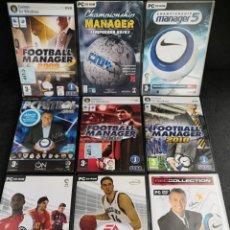 Videojuegos y Consolas: LOTE 9 JUEGOS PC DVD DEPORTES (5). Lote 194269883