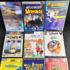 Videojuegos y Consolas: LOTE 9 JUEGOS PC DVD VARIADOS (2). Lote 194270381