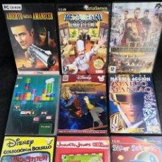 Videojuegos y Consolas: LOTE 9 JUEGOS PC DVD VARIADOS (3). Lote 194270513