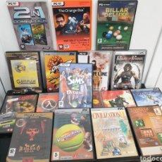 Videojuegos y Consolas: 17 JUEGOS PC. Lote 194282742