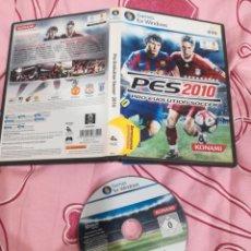 Videojuegos y Consolas: JUEGO PARA PC PRO EVOLUTION SOCCER 2010. Lote 194319818
