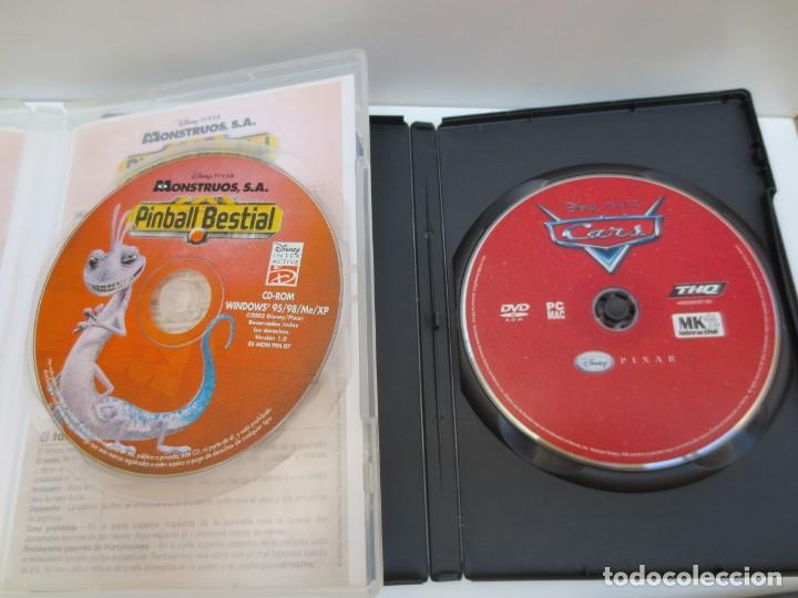 Videojuegos y Consolas: LOTE 3 JUEGOS PC - JIMMY NEUTRO - MONSTRUOS , S.A PINBALL BESTIAL - CARS - Foto 3 - 194322376