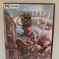 Videojuegos y Consolas: JUEGO PC IMPERIAL GLORY - 3 DISCOS. Lote 194324103