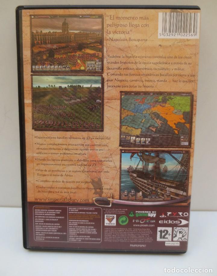 Videojuegos y Consolas: JUEGO PC IMPERIAL GLORY - 3 DISCOS - Foto 2 - 194324103
