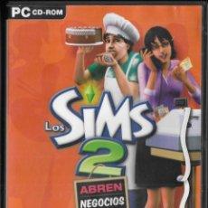 Videojuegos y Consolas: *D462 - JUEGO PC - LOS SIM 2 - ABREN NEGOCIOS - DISCO DE EXPANSION. Lote 194365438