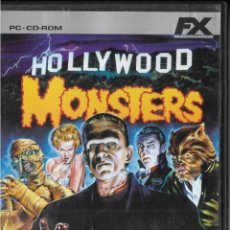 Videojuegos y Consolas: *D464 - JUEGO PC - FX - HOLLYWOOD MONSTERS. Lote 194365736