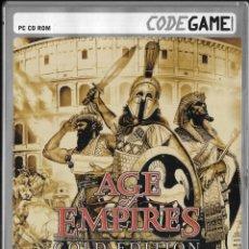 Videojuegos y Consolas: *D465 - JUEGO PC - AGE OF EMPIRES - GOLD EDITION. Lote 194365878