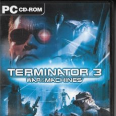 Videojuegos y Consolas: *D468 - JUEGO PC - TERMINATOR 3 - WAR OF THE MACHINES - ATARI. Lote 194366482