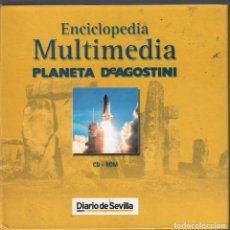 Videojuegos y Consolas: ENCICLOPEDIA MULTIMEDIA PLANETA DEAGOSTINI. 12 CD-ROM + 5 CDS ATLAS MUNDIAL MULTIMEDIA RF-4761 . Lote 194381387
