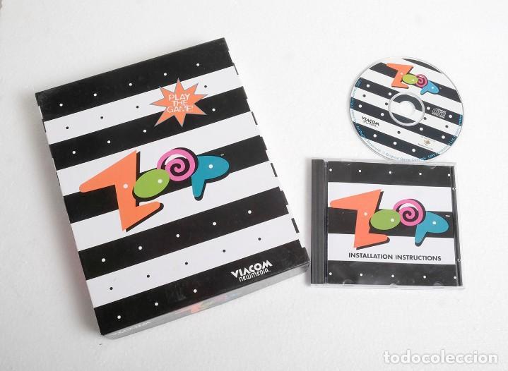 VIDEOJUEGO PARA PC ZOOP. VIACOM, NEW MEDIA. 1995 (Juguetes - Videojuegos y Consolas - PC)