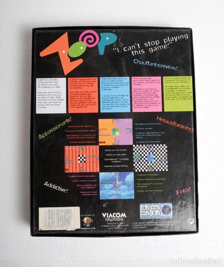 Videojuegos y Consolas: Videojuego para PC ZOOP. Viacom, New Media. 1995 - Foto 2 - 194466140