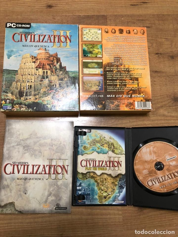 CIVILIZATION III (Juguetes - Videojuegos y Consolas - PC)