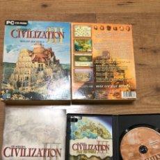 Videojuegos y Consolas: CIVILIZATION III. Lote 194516521