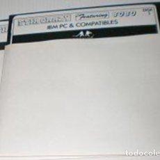 Videojuegos y Consolas: BOBO STIR CRAZY FEATURING BOBO [INFOGRAMES] 1988 [PC 5 1/4] IBM AMSTRAD PC [SOLO DISCOS]. Lote 194517212