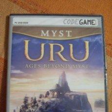 Videojuegos y Consolas: MYST URU AGES BEYOND MYST. CODEGAME. JUEGO PARA PC DVD ROM. NUEVO, PRECINTADO.. Lote 194579478
