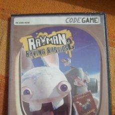 Videojuegos y Consolas: RAYMAN RAVING RABBIDS 2. CODEGAME. JUEGO PARA PC DVD ROM. NUEVO, PRECINTADO.. Lote 194579633