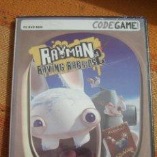 Videojuegos y Consolas: RAYMAN RAVING RABBIDS 2. CODEGAME. JUEGO PARA PC DVD ROM. NUEVO, PRECINTADO.. Lote 194579726