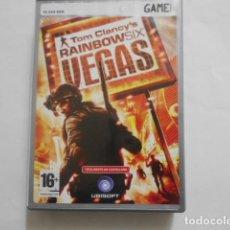 Videojuegos y Consolas: TOM CLANCY`S RAINBOWSIX VEGAS-JUEGO PC. Lote 194589361