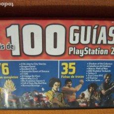Videojuegos y Consolas: MÁS DE 100 GUÍAS PLAYSTATION 2. PC/ CD-ROM, PLAYMANÍA, 2006.. Lote 194609641