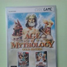 Videojuegos y Consolas: LMV - AGE OF MYTHOLOGY, GOLD EDITION -- JUEGO PC, CD-ROM. Lote 194677616