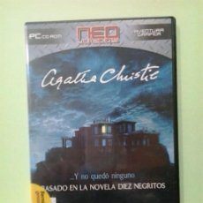Videojuegos y Consolas: LMV - AGATHA CHRISTIE, Y NO QUEDO NINGUNO, BASADO EN LA NOVELA DIEZ NEGRITOS -- JUEGO PC, CD-ROM. Lote 194707342