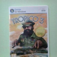 Videojuegos y Consolas: LMV - TROPICO 3 -- JUEGO PC, CD-ROM. Lote 194708433