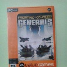Videojuegos y Consolas: LMV - GENERALS. COMAND & CONQUER -- JUEGO PC, CD-ROM. Lote 194708892