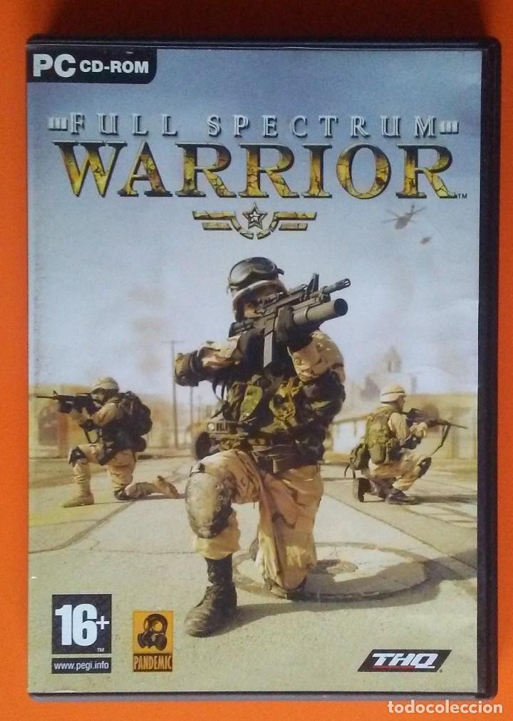 WARRIOR FULL SPECTRUM PC CD-ROM 2004 (Juguetes - Videojuegos y Consolas - PC)