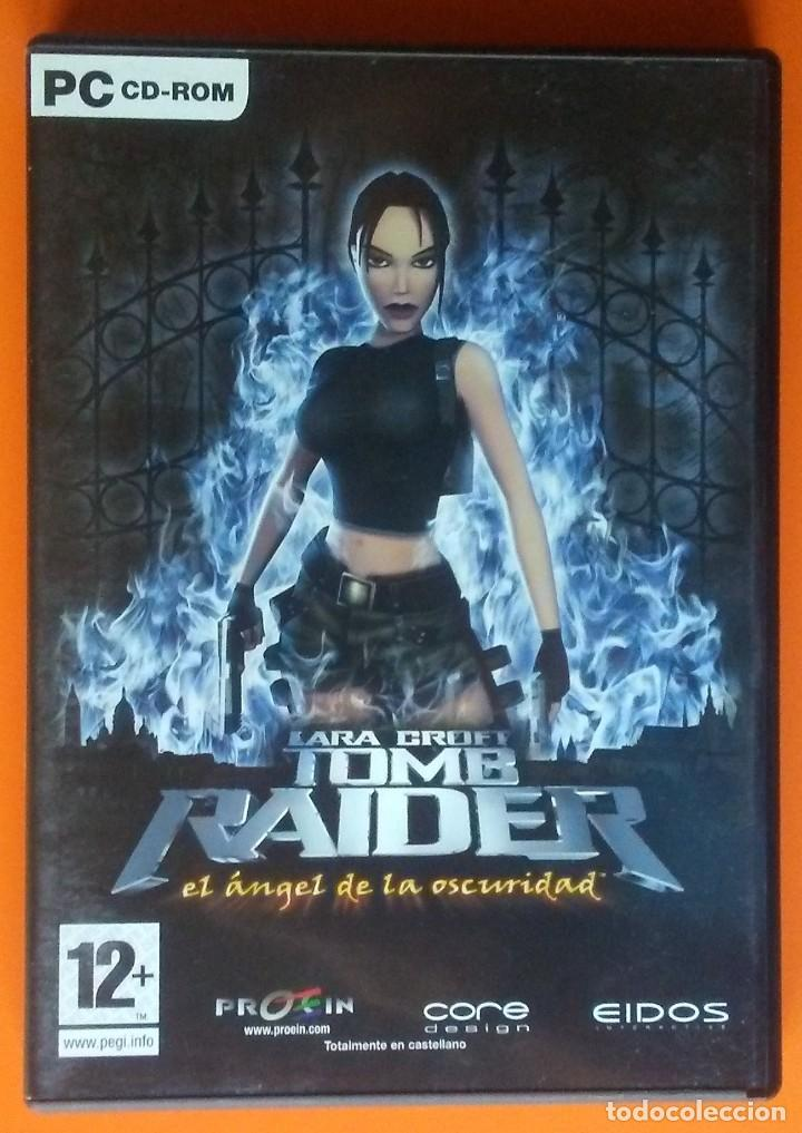 TOMB RAIDER EL ANGEL DE LA OSCURIDAD PC-CD-ROM EDICION 2 DISCOS 2003 (Juguetes - Videojuegos y Consolas - PC)