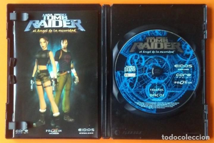 Videojuegos y Consolas: TOMB RAIDER EL ANGEL DE LA OSCURIDAD PC-CD-ROM EDICION 2 DISCOS 2003 - Foto 3 - 194749976