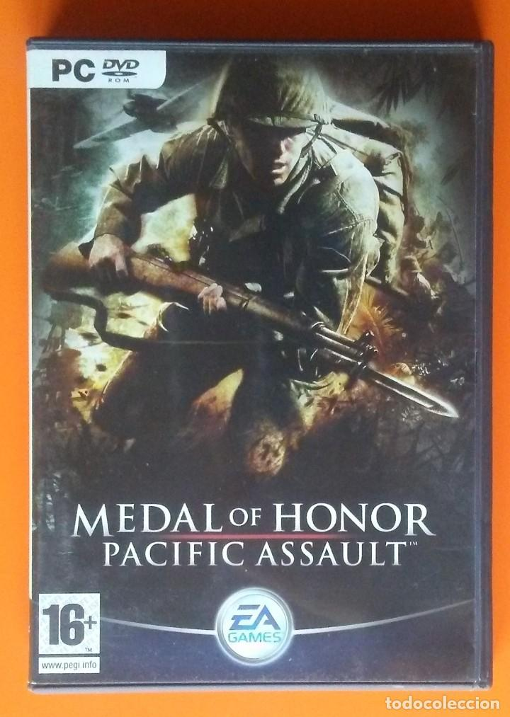 MEDAL OF HONOR PACIFIC ASSAULT PC-DVD-ROM 2004 (Juguetes - Videojuegos y Consolas - PC)