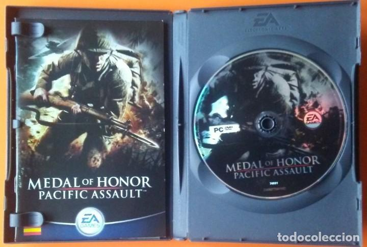 Videojuegos y Consolas: MEDAL OF HONOR PACIFIC ASSAULT PC-DVD-ROM 2004 - Foto 3 - 194750127