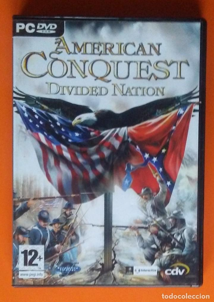 AMERICAN CONQUEST DIVIDED NATION PC-DVD-ROM 2005 (Juguetes - Videojuegos y Consolas - PC)