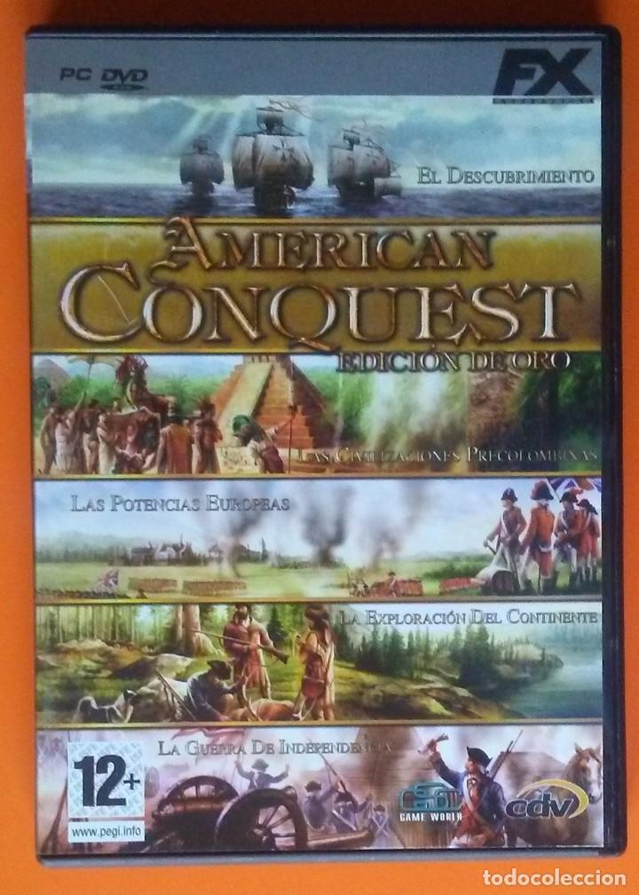 AMERICAN CONQUEST EDICION DE ORO PC-DVD-ROM 2006 (Juguetes - Videojuegos y Consolas - PC)