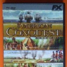 Videojuegos y Consolas: AMERICAN CONQUEST EDICION DE ORO PC-DVD-ROM 2006. Lote 194750386