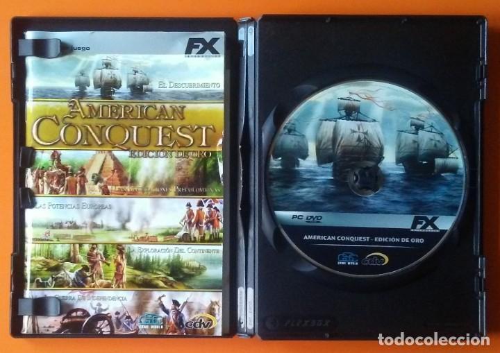 Videojuegos y Consolas: AMERICAN CONQUEST EDICION DE ORO PC-DVD-ROM 2006 - Foto 2 - 194750386