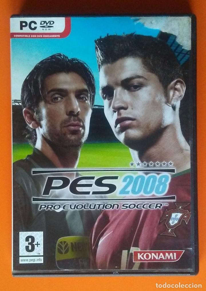 PES 2008 PRO EVOLUTION SOCCER PC-DVD-ROM 2007 (Juguetes - Videojuegos y Consolas - PC)