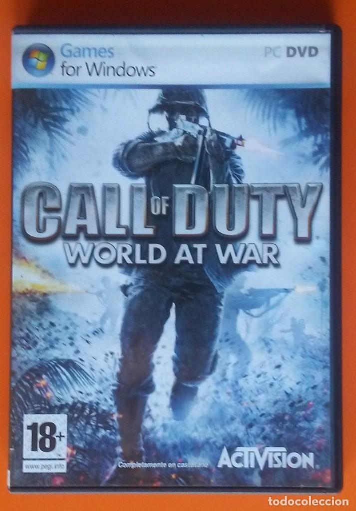 CALL OF DUTY WORLD AND WAR PC-DVD 2008 (Juguetes - Videojuegos y Consolas - PC)
